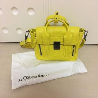 3.1 Phillip Lim Mini Pashli Bag Lemon Yellow