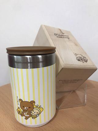 全新 鬆弛熊杯 木盒裝