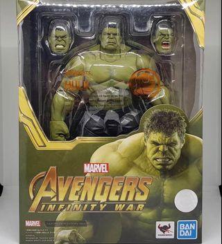 [In hand] SHF SH Figuarts Infinity War Avengers Hulk