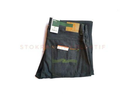 Nudie Selvedge Straight GREEN sz 34 #raya2019 green capsule