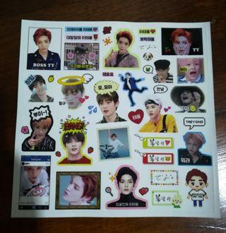 wts nct taeyong stickers