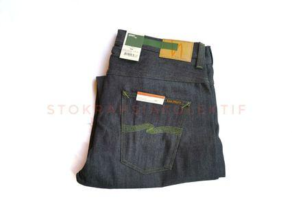 Sz 36 Selvedge Green Capsule Nudie Straight Jeans