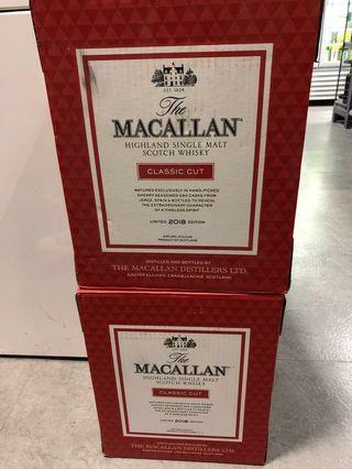 Macallan 2018 每支 一箱箱走 大特價
