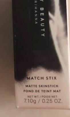 Fenty beauty by Rihanna Match Stix matte skin foundation stick in Suede