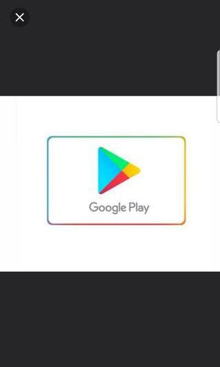 5 percent of google play gift card