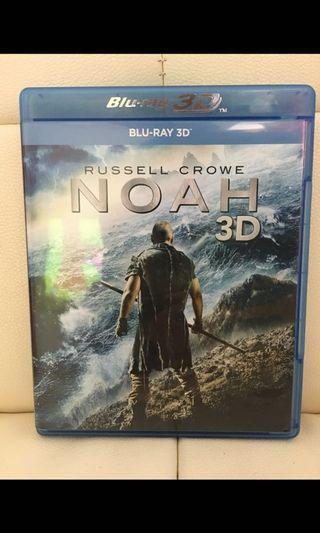 已開。挪亞:滅世啟示。港版3D Bluray