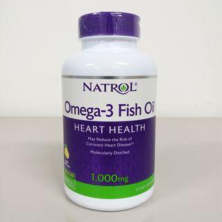 Natrol, Omega-3 Fish Oil, 1000 mg, 150 Softgels + Free Postage