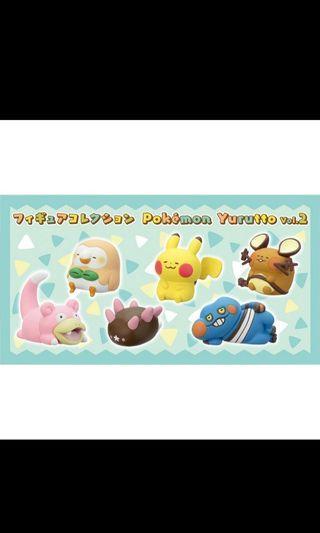 🚚 寶可夢 卡娜赫拉聯名款pokemon Yurutto  第二彈 拳海參