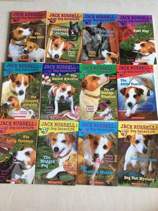 Scholastic Jack Russell Dog Detective