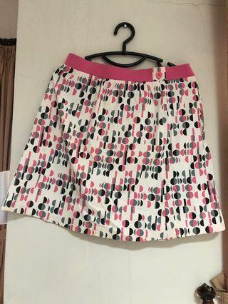 Korean polkadot Skirt