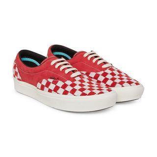 Vans Vault ComfyCush Era LX Checkerboard Red / Marshmallow