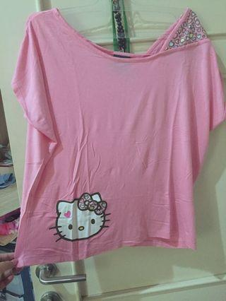 Pink Hello Kitty Top