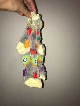 Fruit socks from Japan