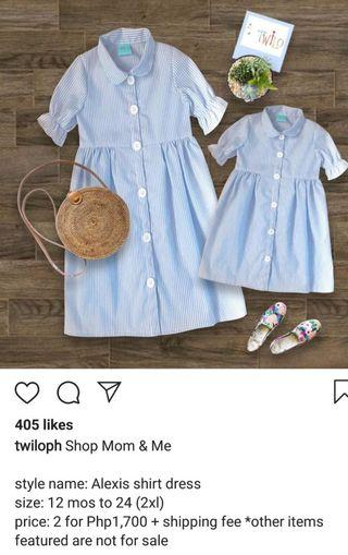 Repriced na Free SF pa! Twilo Mother and Daughter Twinning Dress