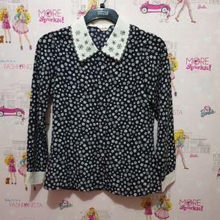 Floral Collar Shirt