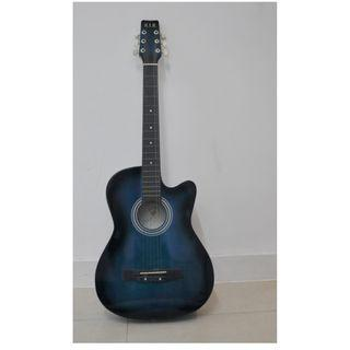 Guitar for sale (blue colour)