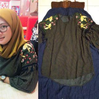 Embroidery Blouse Size M