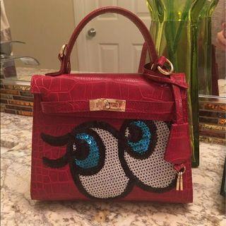 Playnomore Red Handbag #APR75