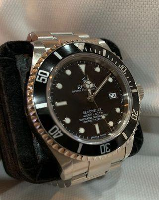 🚚 Complete Set: Rolex 40mm Sea Dweller (Ref: 16600)