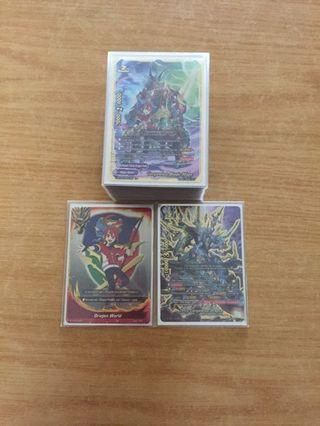 WTT only buddyfight fully built dragod deck