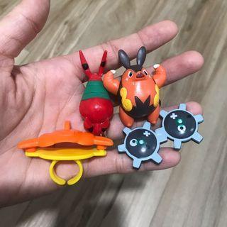 Mainan pokemon. Take all 4pcs