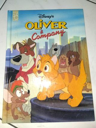 Disney's book Oliver and company (English)