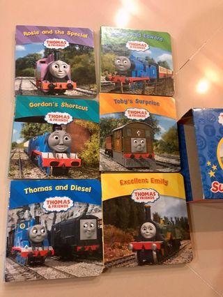 Thomas train super library 6 books.