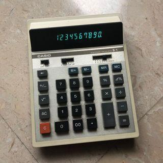 Vintage Casio Calculator S1 made in japan