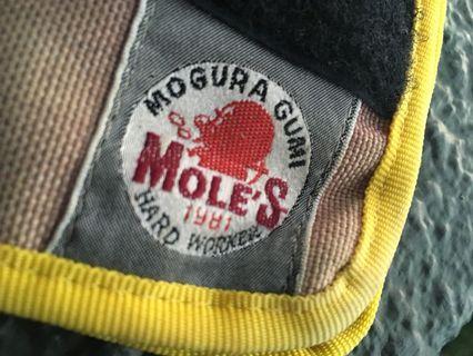Mole's wallet vintage