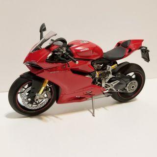1/12 雙星 Tamiya Ducati 1199 Masterwork Collection 完成品 built up aoshima