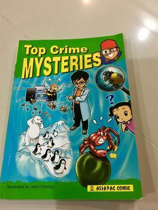 Top crime mysteries