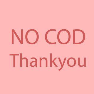 No COD, trf dulu baru kirim y