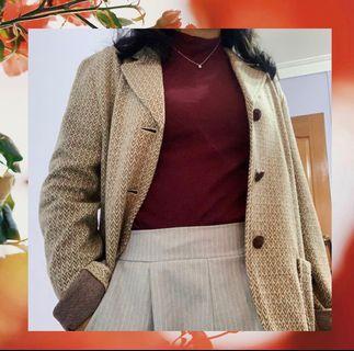 🚚 Vintage Knitted Blazer