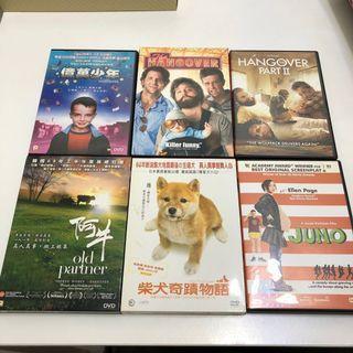 12隻行貨DVD全部$100