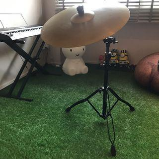 """CRX Ride 20"""" Cymbal with adjustable stand"""