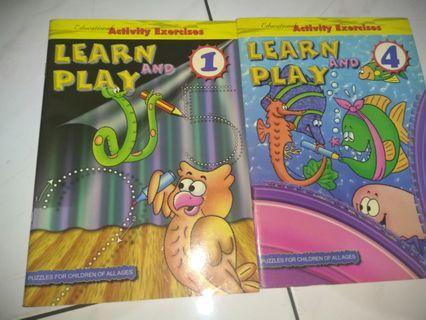 Buku aktifitas Bahasa inggris