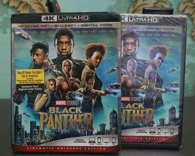 Black Panther 4k Ultra HD Blu-ray