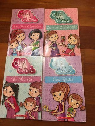 Ella and Olivia set of 4