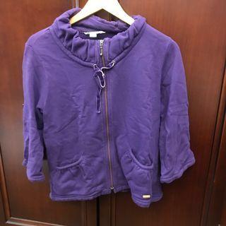 🚚 Roots 紫色外套 #半價衣服拍賣會