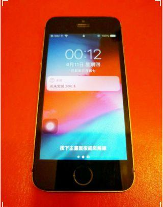 Iphone 5s  16g 正常使用中in normal use
