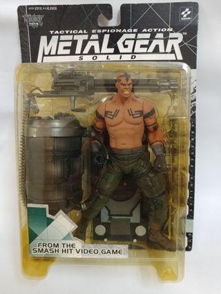 Vulcan Raven Metal Gear Solid Figure 7吋 McFarlane