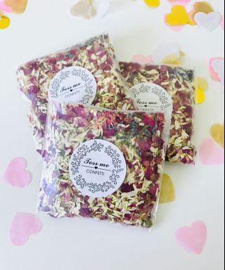 🚚 Dried Flowers Confetti (Lavender scent)