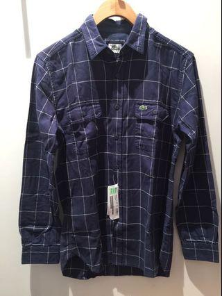 🚚 Lacoste 格紋襯衫
