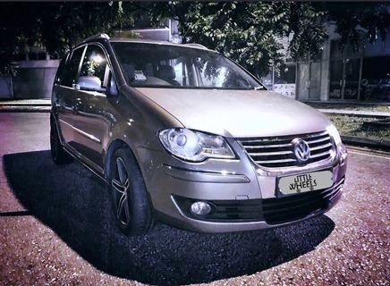 Volkswagen Touran 📢FREE 1 week rental promo📢