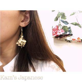 日本🇯🇵乾花耳環