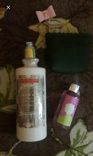 Argan Lotion + Shower Gel