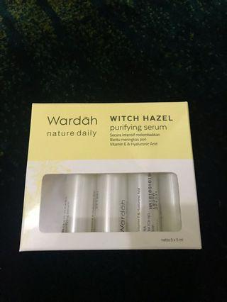 WARDAH SERUM witch hazel