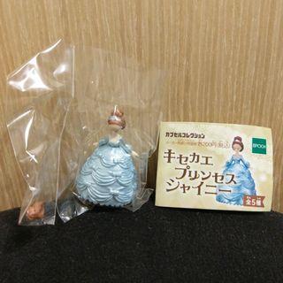 包郵 全新日本扭蛋公主擺設