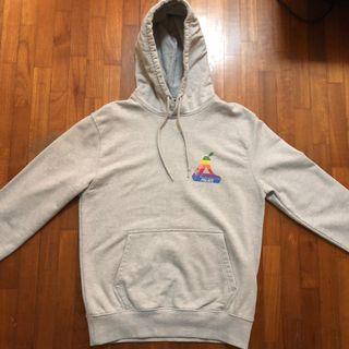 da87fca5bdfa Palace jobsworth hoodie grey Marl size S