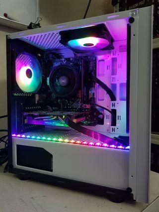 6 cores 12 threads processor GTX1070 8GB Custom Gaming PC